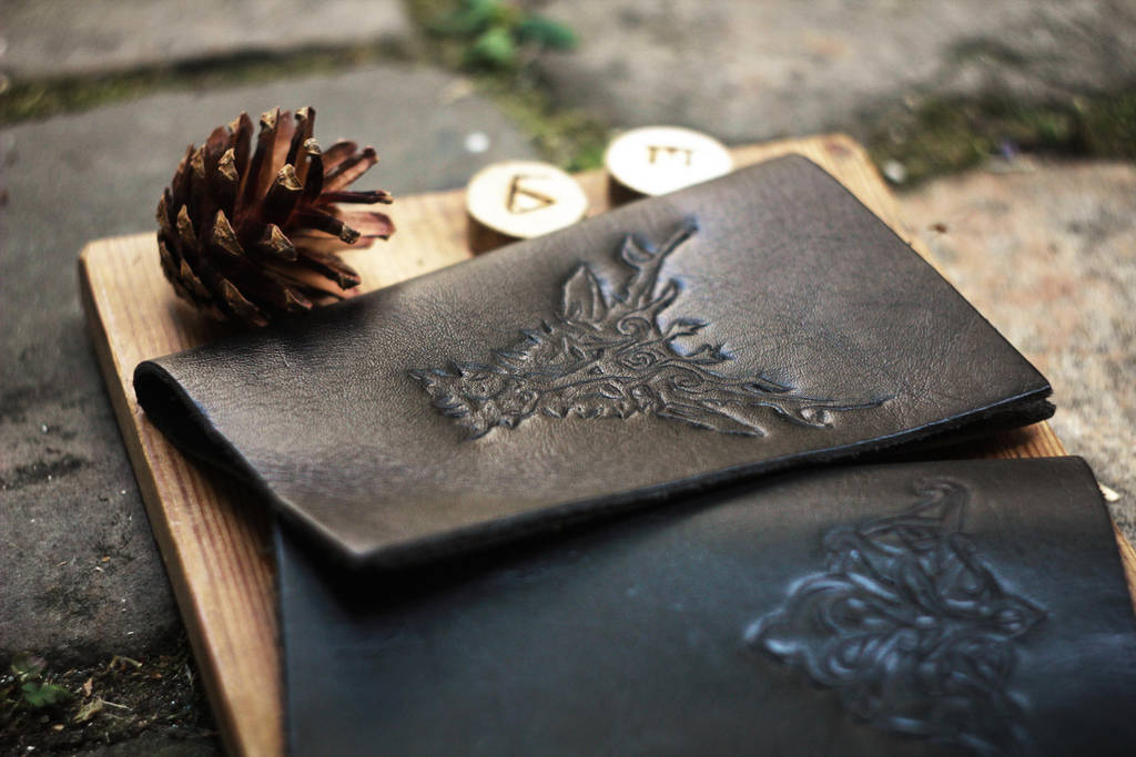 Stag notebook cover - WIP by Eldritch-Error