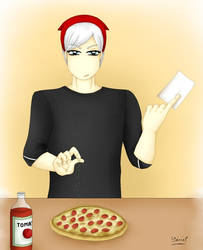 Making Pizza by Yeniel