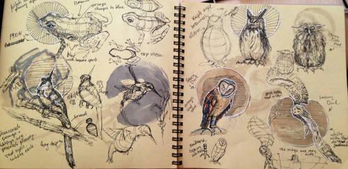 dynamic sketching 12 by MiamoryHJ