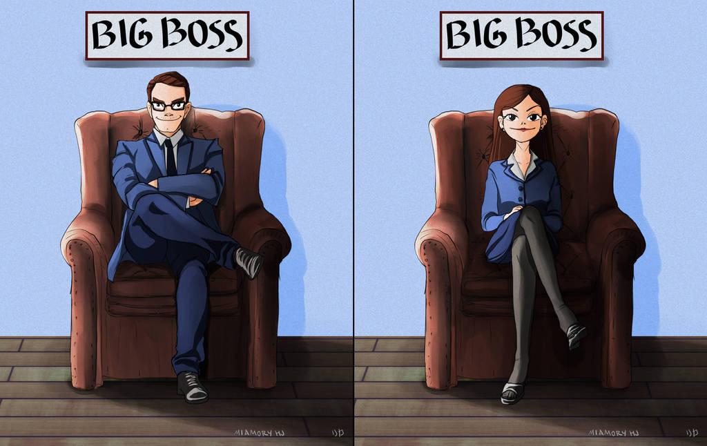 I wanna be a boss by MiamoryHJ