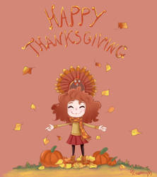 Happy thanksgiving by MiamoryHJ