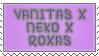 Stamp Request Vanitas x Neko x Roxas by Dusk-deerfluff