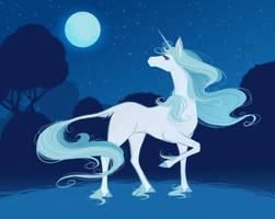 31 The Last Unicorn by LadyChamomile