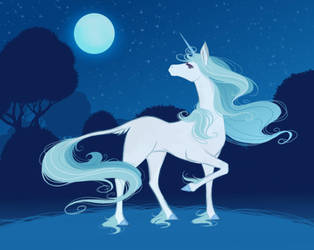31 The Last Unicorn by LadyChamomile