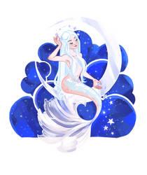 Mermay 1: Moon by LadyChamomile