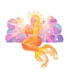 Mermay 2: Sun by LadyChamomile