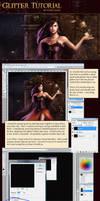 Creating Glitter - Tutorial by LouisaGallie