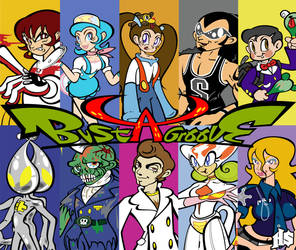 Bust a Groove 2 - Characters by H8orSaints