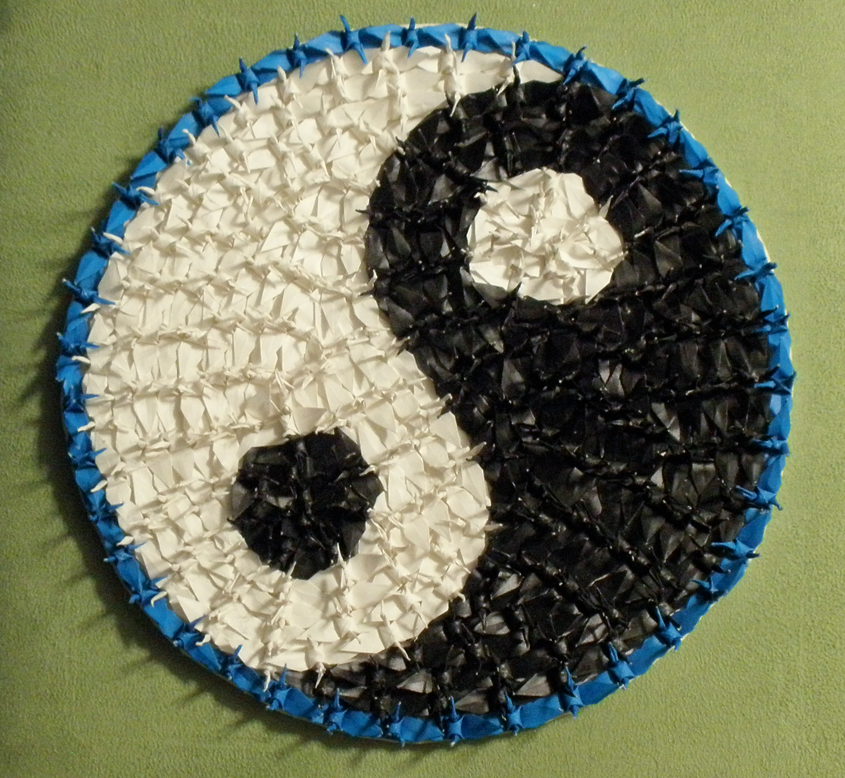 Yin Yang Cranes By Chemical Poison On Deviantart