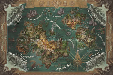 World Map by AugustinasRaginskis