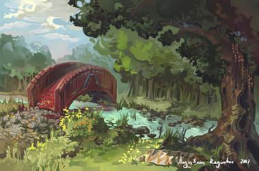 The Bridge by AugustinasRaginskis