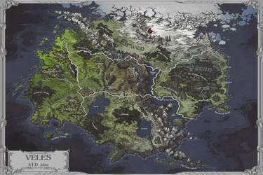 Veles Map by AugustinasRaginskis