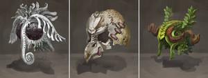 Masks by AugustinasRaginskis