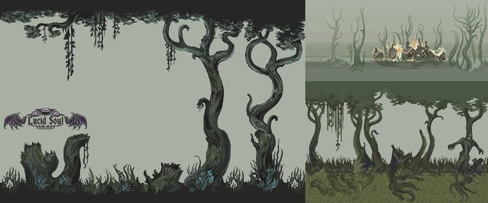 Spooky Forest by AugustinasRaginskis