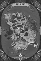 Map of Tempris by AugustinasRaginskis