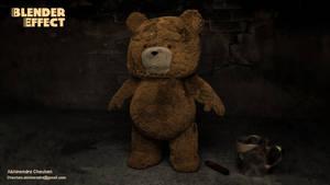 Blender 2.71 Ted Fur 3D by abhinendrachauhan