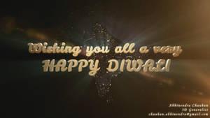Happy Diwali 2014 by abhinendrachauhan