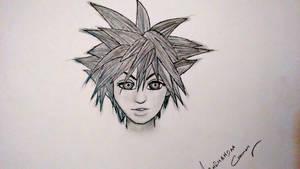 Sketching (Character) by abhinendrachauhan