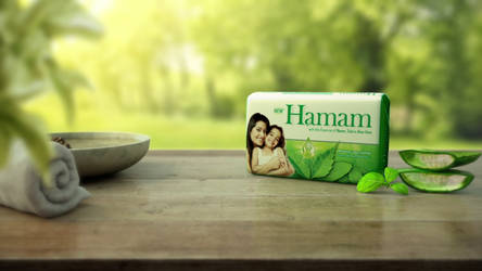 Hamam TVC by abhinendrachauhan