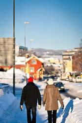 Winter Walk by eb-razer
