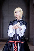 Fate-Saber Alter by josephlowphotography