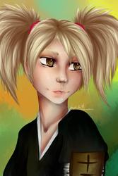 Hiyori Sarugaki by KynRen