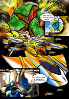 Alien Abduction- Comic Page by Gingco