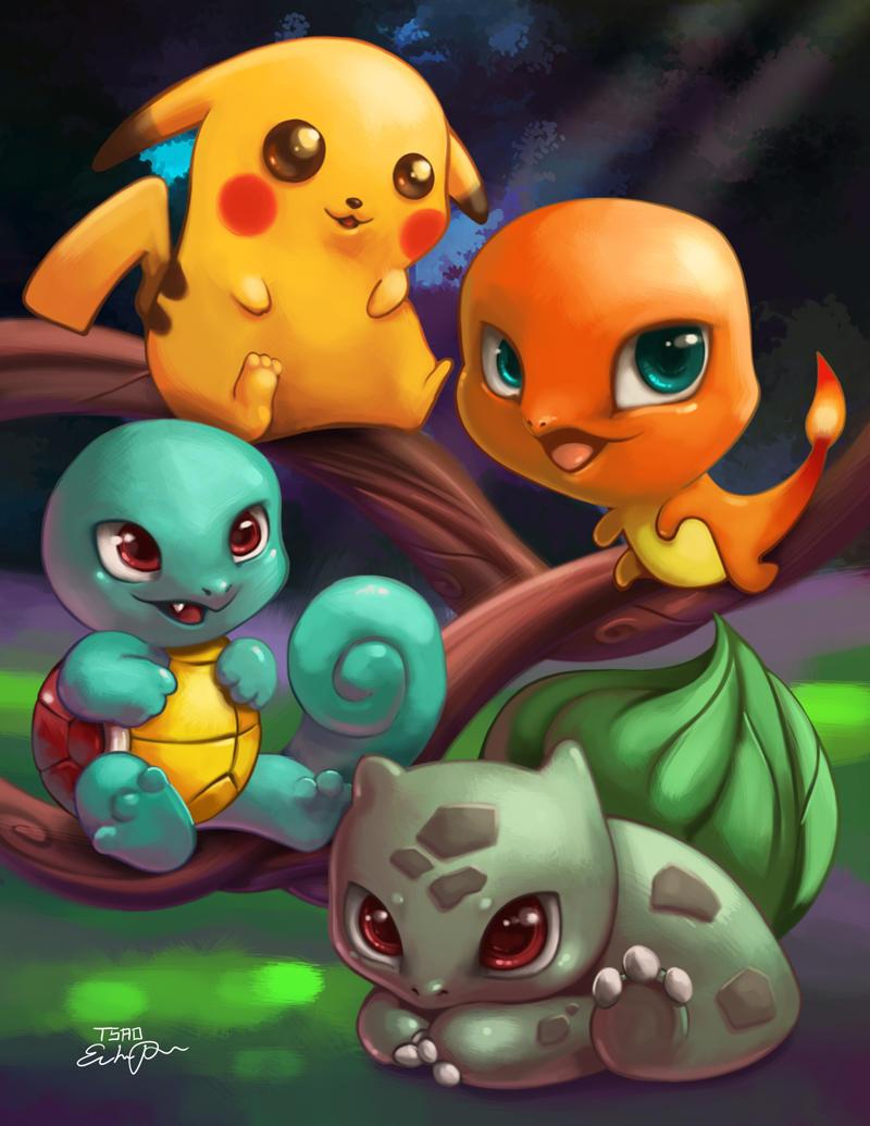 Pokemon Group by TsaoShin