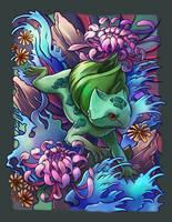 Bulbasaur Tattoo by TsaoShin