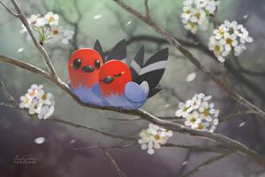 Springtime Fletchlings by TsaoShin