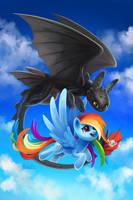 Over the Rainbow by TsaoShin