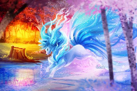 Alola Ninetales by TsaoShin