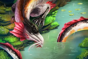 Koi Dragon by TsaoShin