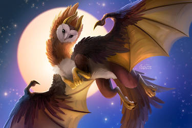 Owl Dragon by TsaoShin