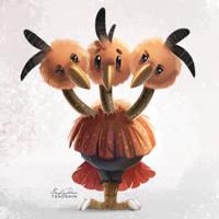 085 - Dodrio by TsaoShin