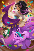 The Espeon of Notre Dame by TsaoShin
