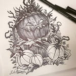 Inktober Day 3: Punkin by TsaoShin