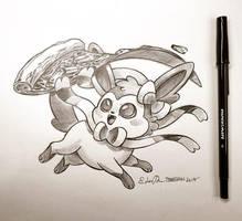 Inktober Day 22: Spirit Animal by TsaoShin