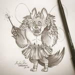 Inktober Day 23: Monster Mashup by TsaoShin