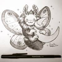 Inktober Day 25: Night Creatures by TsaoShin