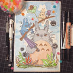 Totoro Balance by TsaoShin