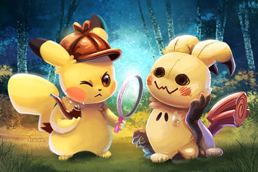 Detective Pikachu by TsaoShin