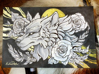 Rose Wolf by TsaoShin
