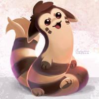 162 - Furret by TsaoShin