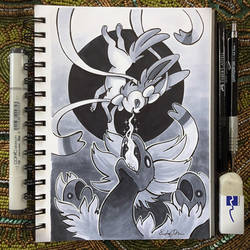 Inktober Day 21 - Drain by TsaoShin