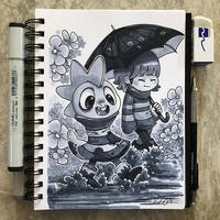 Inktober Day 23 - Muddy by TsaoShin
