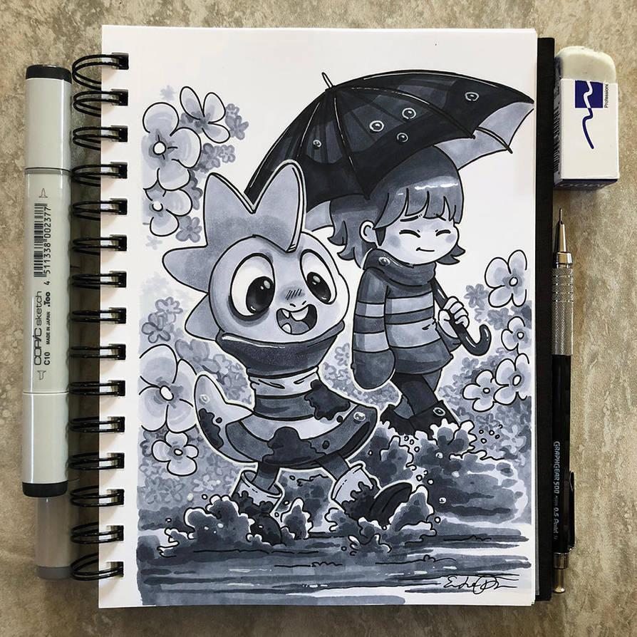 Inktober Day 23 - Muddy by TsaoShin