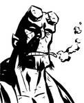 Hellboy by mistermuck