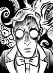 HP Lovecraft by mistermuck