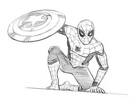 Lookin good there, Spidey! by mistermuck